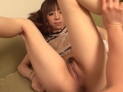 Horny Japanese slut Mai Serizawa in Best JAV uncensored Fingering scene