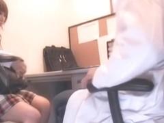 Big booty Jap slut nailed in hidden cam hardcore clip
