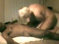 The wife cheats on her husband with a black guy