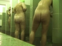 Hidden cameras in public pool showers 305
