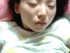 young korean girl homemade