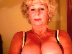 Granny Andrea shows her soaked love muffins