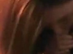 Redhead sucks and copulates with close up of face