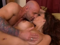 Tattooed fucked Barry Scott gets busy with sexy porn star Layla Rivera