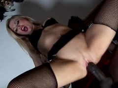 Crazy pornstars Michelle Moist, Lolly Badcock in Amazing Cumshots, Threesomes porn clip