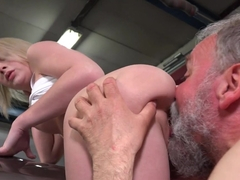 Exotic pornstar in Crazy Oldie, Blonde porn clip