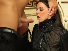 Horny pornstar Simony Diamond in exotic brazilian, deep throat porn clip