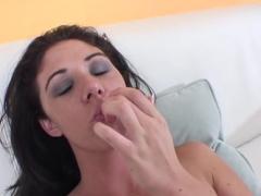 Amazing pornstar Katie Angel in exotic masturbation, dildos/toys adult clip