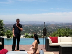 Horny pornstars Jasmine Jae, Brad Knight in Exotic Brunette, Massage xxx clip
