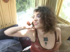 Step Mommy has a COCK Bratty New Daughter Finds out the Hard Way