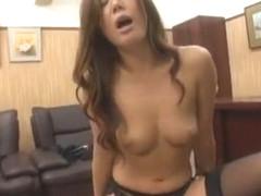 Hottest Japanese whore Asumi Toyokawa, Mio Fujisawa, Hikaru Yukino in Exotic Stockings/Pansuto JAV.
