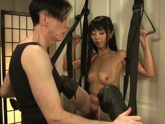 Exotic anal, asian porn video with horny pornstar Marica Hase from Kinkuniversity