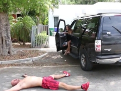 Exotic pornstar in Crazy Small Tits, Hardcore adult clip