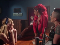 Horny fetish, anal porn video with hottest pornstars Mona Wales, Mistress Kara and Daisy Ducati fr.