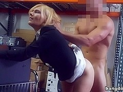 Hot Milf Banged At The PawnSHop