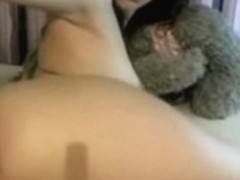 Whole hand in nasty teenie's asshole