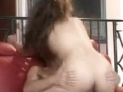 Hot hairy Latina fucked in the booty
