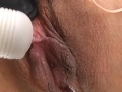 Slutty Japanese tortured by toys BDSM style