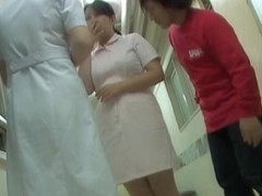 Japanese sharking raunchy scenes from the hospital