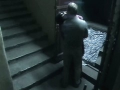 Hidden camera in porch