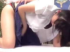 Hidden camera records a massage turned into a nice sex