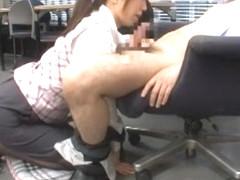 Best Japanese girl Airi Nakashima in Exotic Stockings/Pansuto, Cunnilingus JAV movie