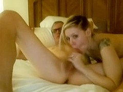Old Man Getting Sucked And Fucked By Younger Woman On Webcam Home Porn Video