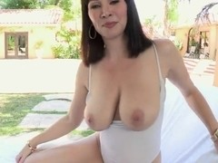 Teen bitch Ray Veness has wonderful big and tasty boobs