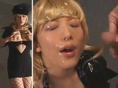 Split Screen Mastubation & Bukkake - Meisa Hanai