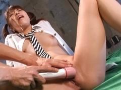 Hottest Japanese whore Hinata Tachibana in Fabulous JAV uncensored Facial scene