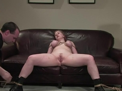 Casting Couch 12: Nerine is the Real Deal bondage slut