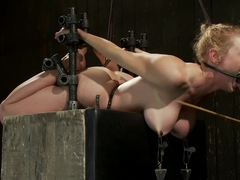 Bondage Babe Suffers for Your Pleasure