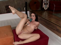 Solo action of Sophie Moone using her toys