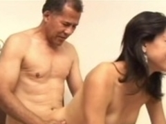 Hottest pornstar in amazing latina, old and young adult video