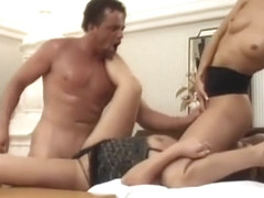 Exotic pornstars Daria Glower and Janet Peron in amazing brunette, facial adult movie