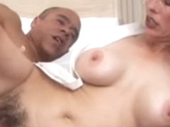 Mother I'd Like To Fuck with bushy cookie receives screwed by juvenile dude