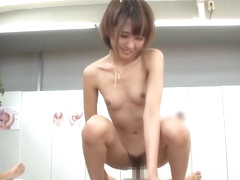 Best Japanese whore Mao Hamasaki, Yuki Natsume, Ayako Kirishima,Risa Shimizu 2 in Fabulous public,.