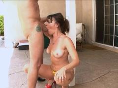 Crazy pornstars Dana DeArmond, Chris Charming in Best Deep Throat, Swallow adult clip