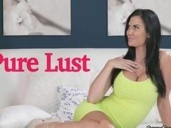 Pierced pussy busty milf fucked