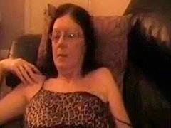 Curly wife cums twice