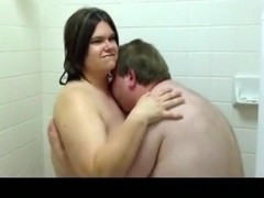 Cuckold captures his bbw wife having sex with another man