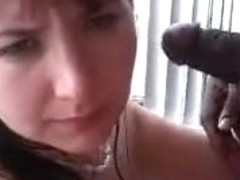 Wife amber receives blacked