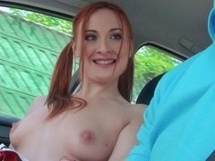 Eva Berger in Redhead Cheerleader Gets Fucked - StrandedTeens