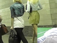 Nice upskirt vids with couple of marvelous girlfriends