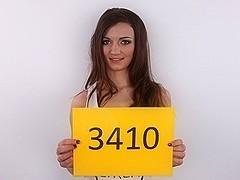 CZECH CASTING - 1St ANAL session Adela (3410)