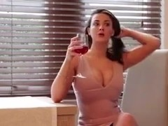Joey Fisher Strips And Models Her Sexy Body