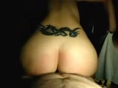 tatooed above her ass sex
