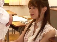 Exotic Japanese girl Ichigo Tominaga in Incredible JAV censored Facial, College clip