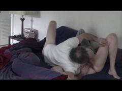 Older couple hairy pussy vibrator 69 doggy style fuck