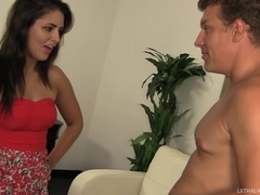 Step Dad Seduces Naive Teen Into Butt Munching
